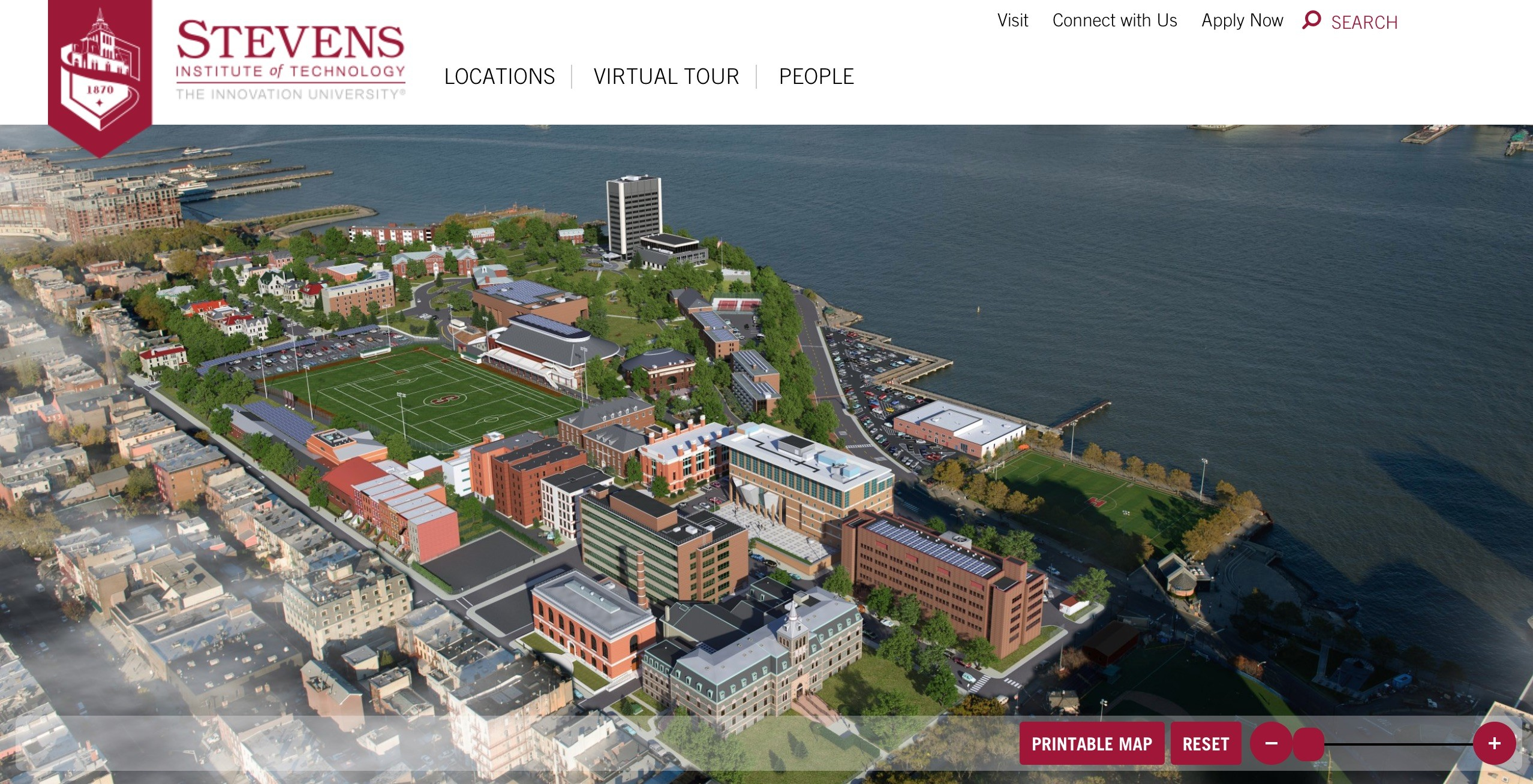 stevens institute of technology campus map Stevens Institute Of Technology Launches Virtual Tour And stevens institute of technology campus map