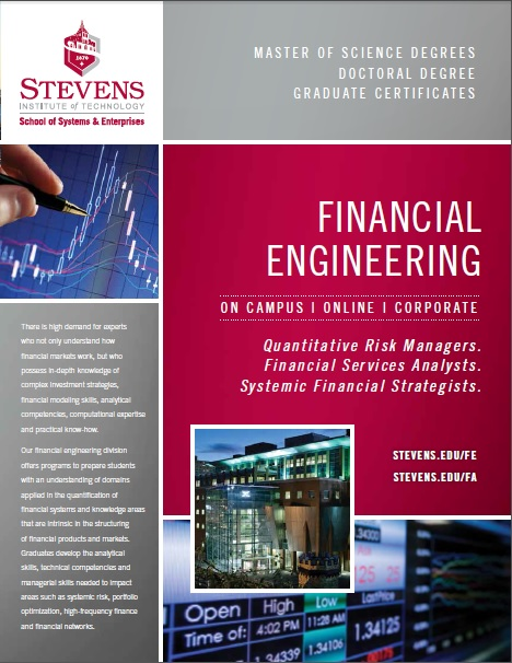 Financial Engineering brochure