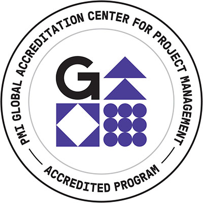 Logo for PMI's Global Accreditation Center