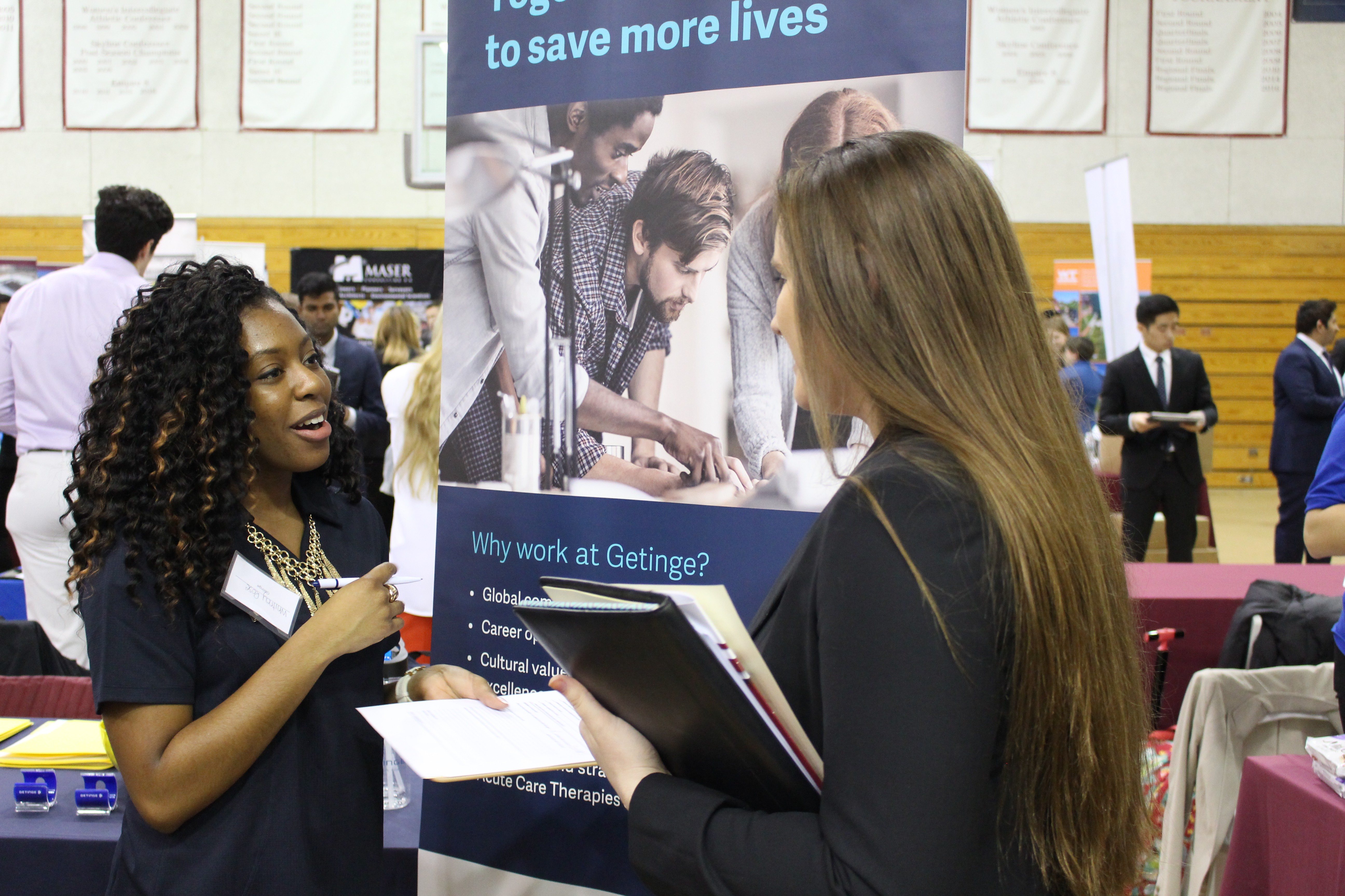 Stevens' Spring 2018 Career Fair Plays Matchmaker for Students and