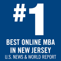US News ranked the online MBA #40 in the U.S. and #1 in New Jersey,