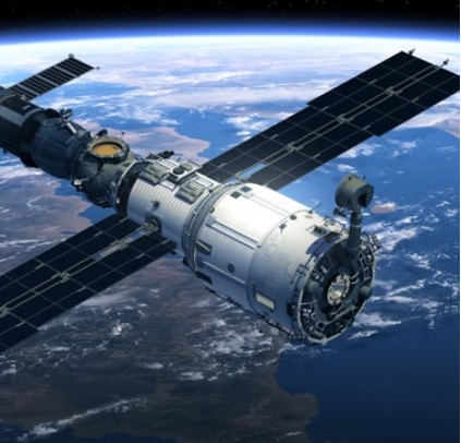 Satellite in Space - Stevens Systems Engineering