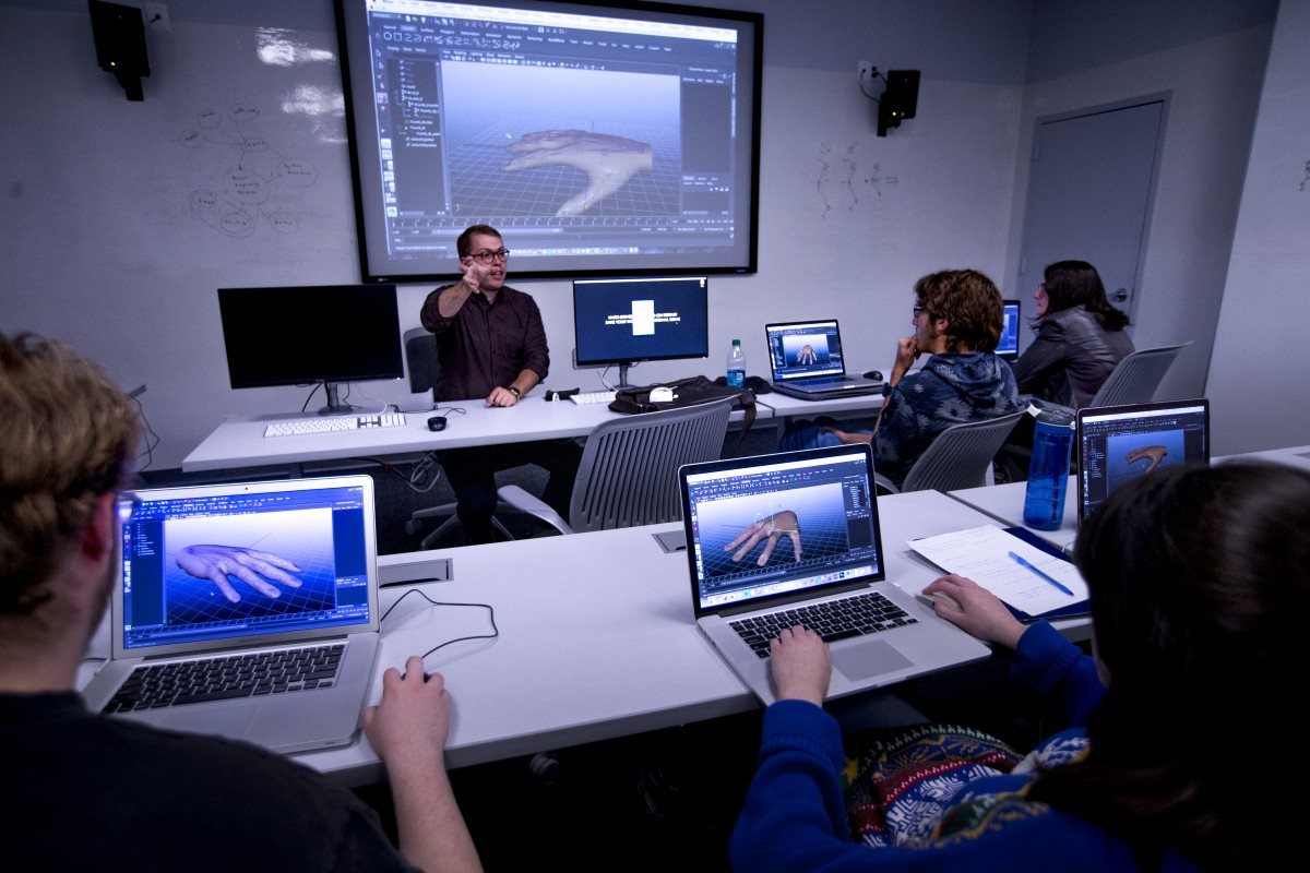 Design and animation classes at Stevens