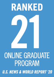 U.S. News ranked the online Stevens systems and software engineering programs #21 in the country in 2020.