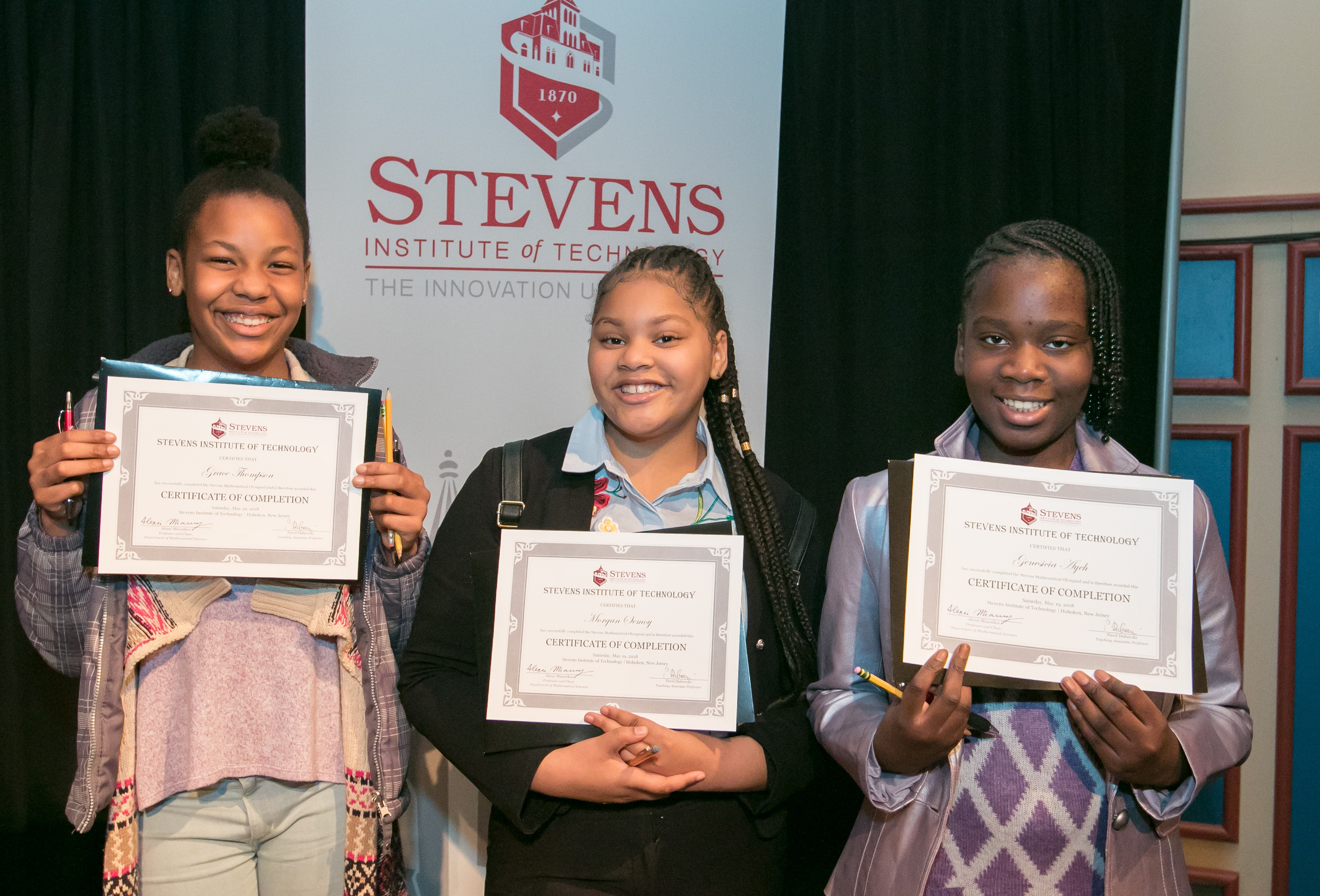 Stevens Math Olympiad Helps Build Community of Young