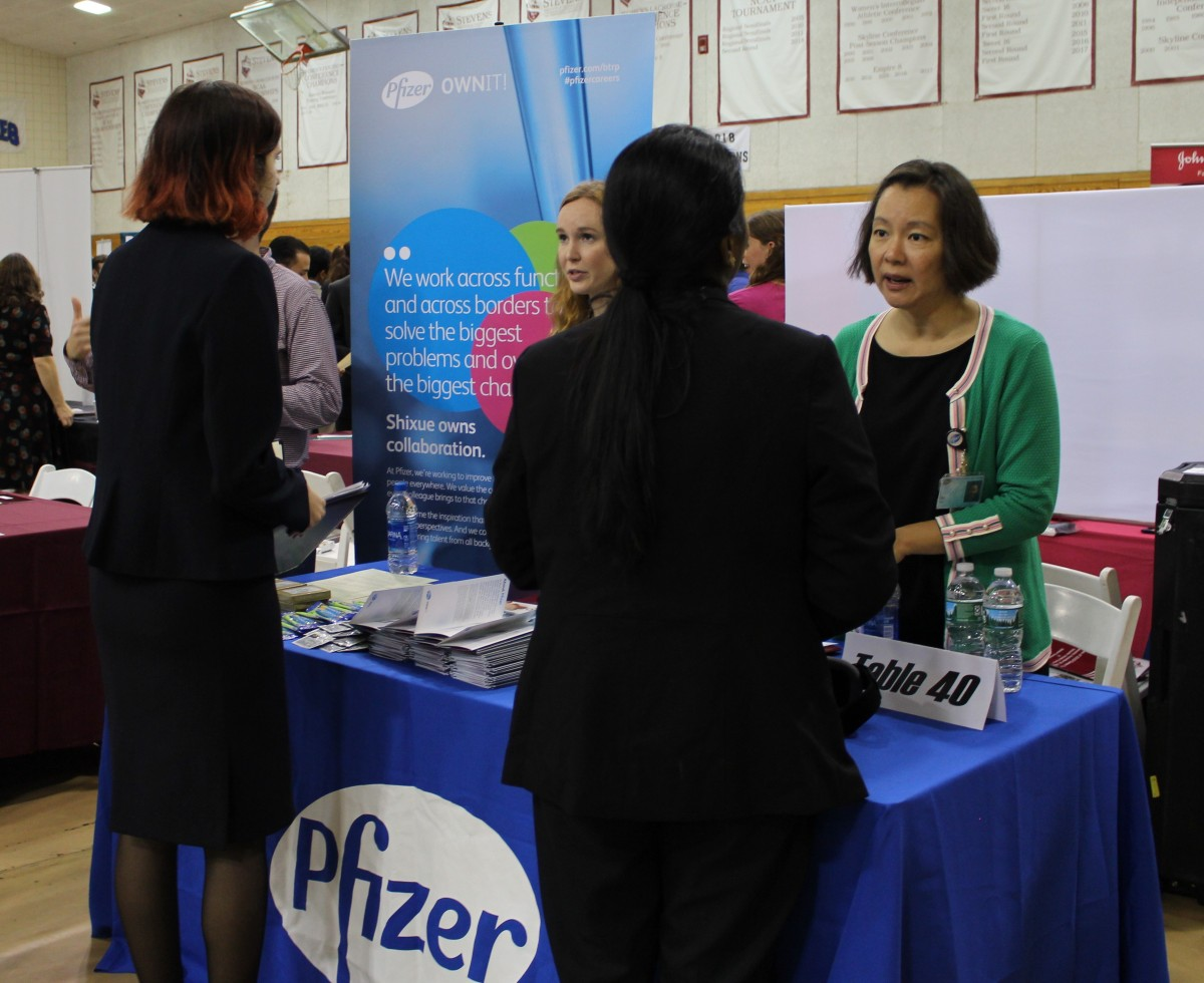 At Stevens Fall Career Fair, Recruiters Seek to Launch