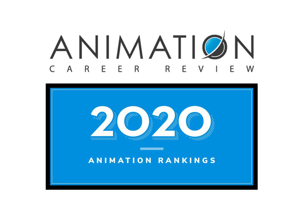 2020 Animation Rankings