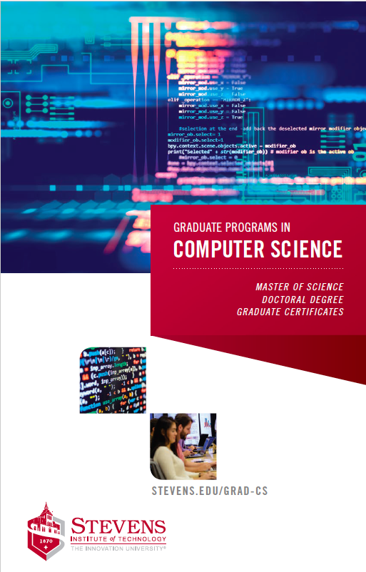 cover computer science brochure