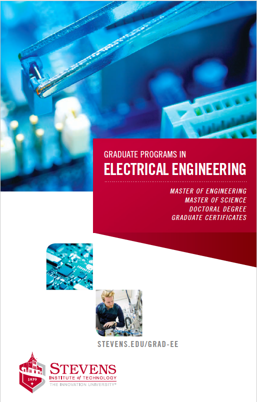 Cover of Electrical Engineering graduate programs brochure