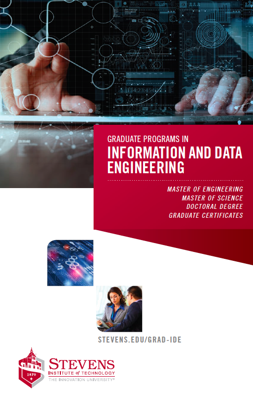 Cover of Information and Data Engineering graduate programs brochure