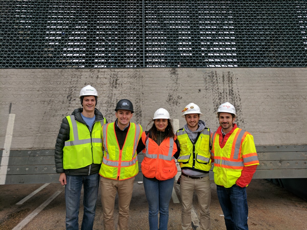 Bridgeworks team onsite at the bridge. CREDIT: Bridgeworks team.