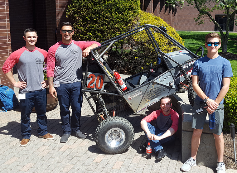 FSAE team at Innovation Expo