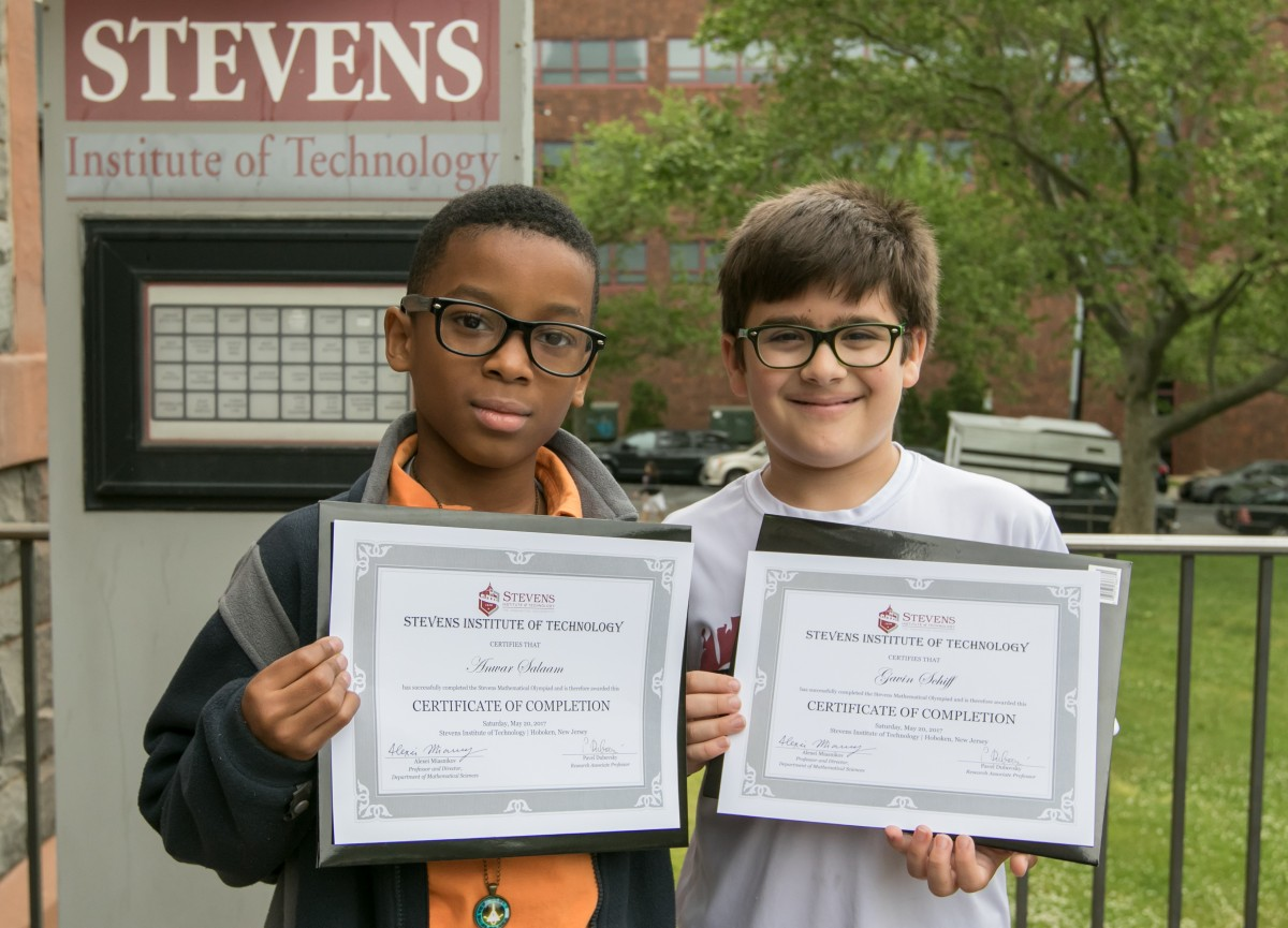 Stevens Inspires New Jersey Students to Think Outside the