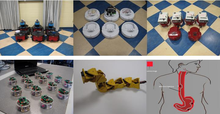 Examples of robotics projects at Stevens