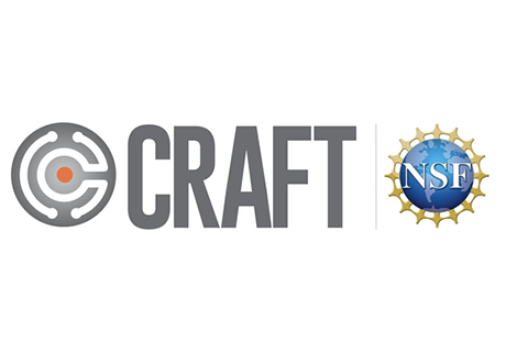 Logo for CRAFT, with NSF seal.