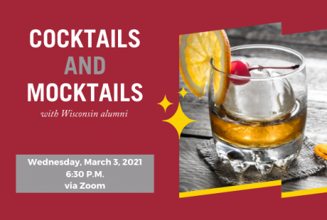 Cocktails and Mocktails with Wisconsin Alumni