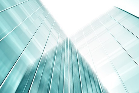 Abstract image of buildings