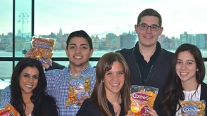 Stevens seniors developed and marketed a new snack food product aimed at health-conscious college students.