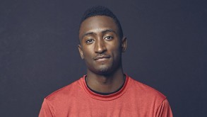 Marques Brownlee in his studio.