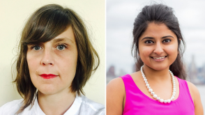 Amber Benezra and Daksha Khatri headshots