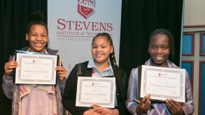 Students with math olympiad awards