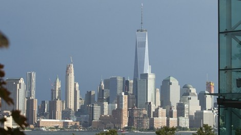 View of New York City from the Stevens campus.