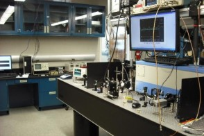 Holographic interference lithography setup