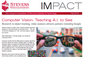 cover of Fall 2019 issue of IMPACT