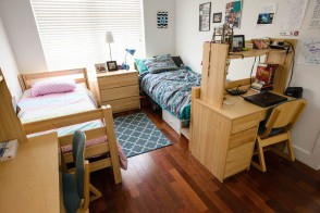 double room at Stevens Institute of Technology
