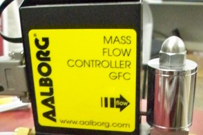 Mass Flow Controllers (Aalborg GFCS 014365)