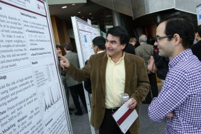 Faculty members describes his research