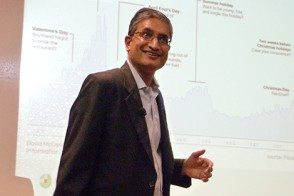 Sandeep Sacheti, of Wolters Kluwer, was an executive at American Express and UBS before taking his current role.