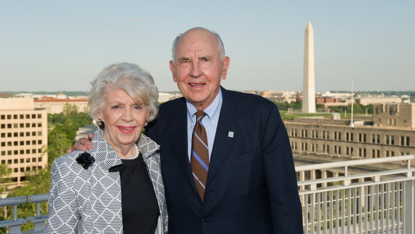 Stevens Launches A. James Clark Scholars Program with  $15 Million Endowment from the A. James and Alice B. Clark Foundation