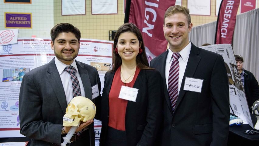 Stevens Institute of Technology Team Named Finalist in Collegiate Inventors Competition