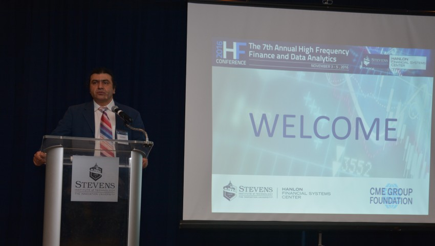 Dr. Ionut Florescu - Stevens Conference on High Frequency Finance