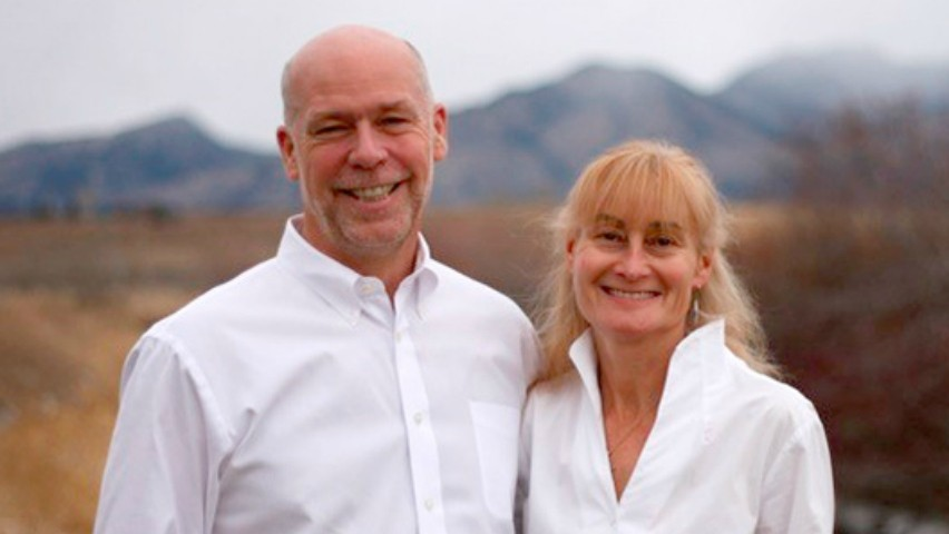 Greg Gianforte, Class of 1983, and wife Susan