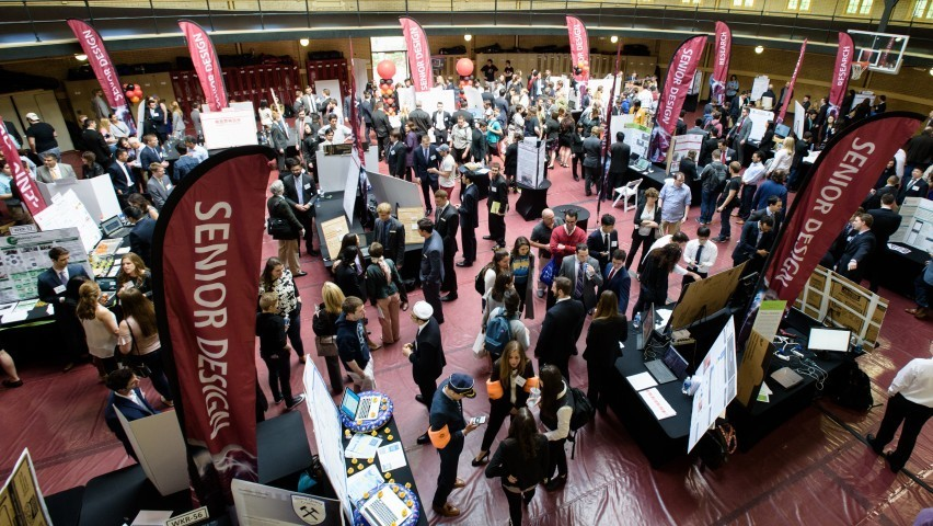 Photo of the School of Systems and Enterprises Innovation Expo