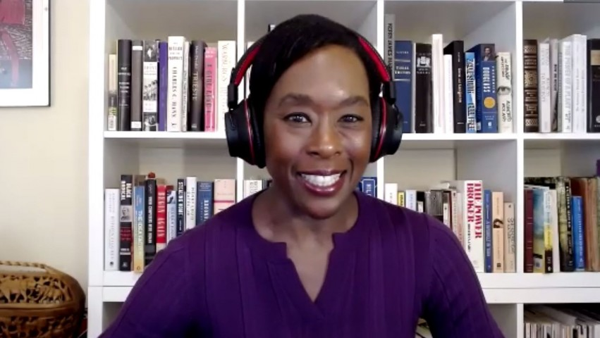 Hidden Figures author Margot Lee Shetterly