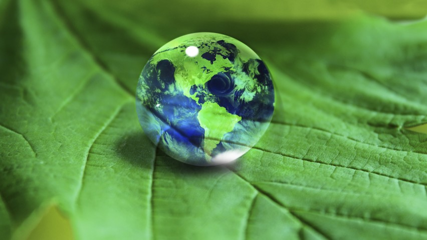 image of green earth