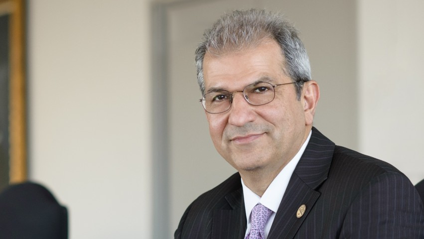 Stevens President Nariman Farvardin Selected Educator of the Year by Research & Development Council of New Jersey