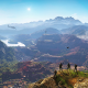 """Screenshot of a mountainous landscape in the video game """"Tom Clancy's Ghost Recon Wildlands"""""""