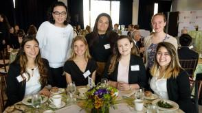 Stevens Scholars at the 2017 Scholarship Lunch