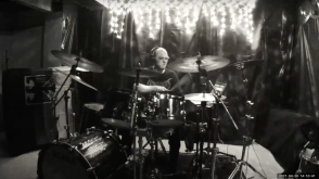 Michael Blume performs on the drums