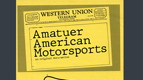 Poster of Amateur American Motorsports, a visual arts project