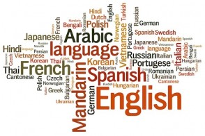 Word Cloud of World Languages