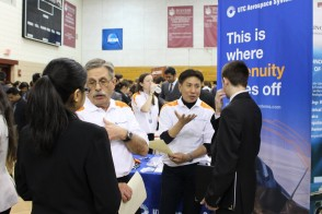 Campus career fair
