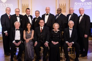 Group of attendees from the 3rd Stevens Awards Gala