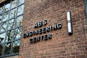 Picture of the exterior of the ABS Engineering Center at Davidson Labs