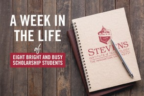A week in the life of eight bright and busy scholarship students
