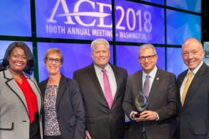 Stevens Receives ACE/Fidelity Investments Award